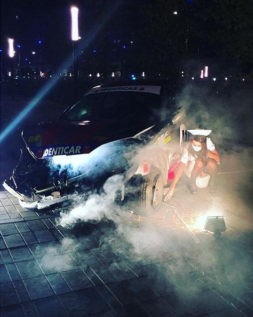 Car crash solo show opening day / photo Mr Le Français #ccx #carcrash #artgallery #artgraffiti #carcrashart #ccx #cedrixcrespel #crespel #adgalerie #mrlefrancais #maisonclose